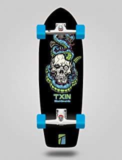 TXIN - Surfskate Complete with SGI Surf Skate Trucks - Bl...