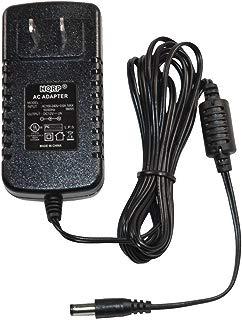 HQRP AC Adapter/Power Supply for Yamaha DGX-520 / DGX520 / DGX-530 / DGX530 Keyboards Replacement [UL Listed] plus HQRP Euro Plug Adapter