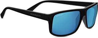Serengeti Claudio Polarized Sunglasses, Satin Dark Grey