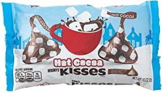 Fun Express - Hot Cocoa Hershey Kisses for Christmas - Edibles - Chocolate - Branded Chocolate - Christmas - 65 Pieces