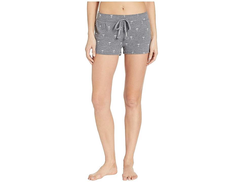 P.J. Salvage Peachy Party Shorts (Smoke) Women