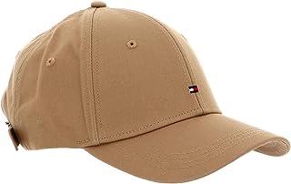 قبعة مسطحة للنساء بتصميم اساسي وطبعة العلم من تومي هيلفجر