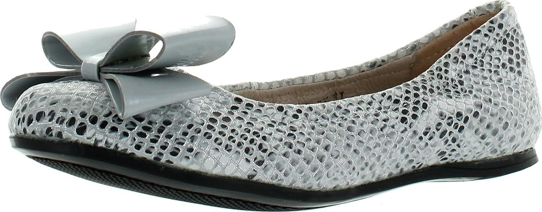 Venettini Girls 55-Jody Designer Snake Print Fashion Dress Flats Shoes