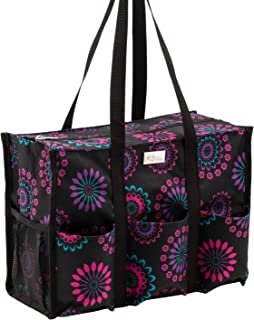 31 zip top organizing utility tote