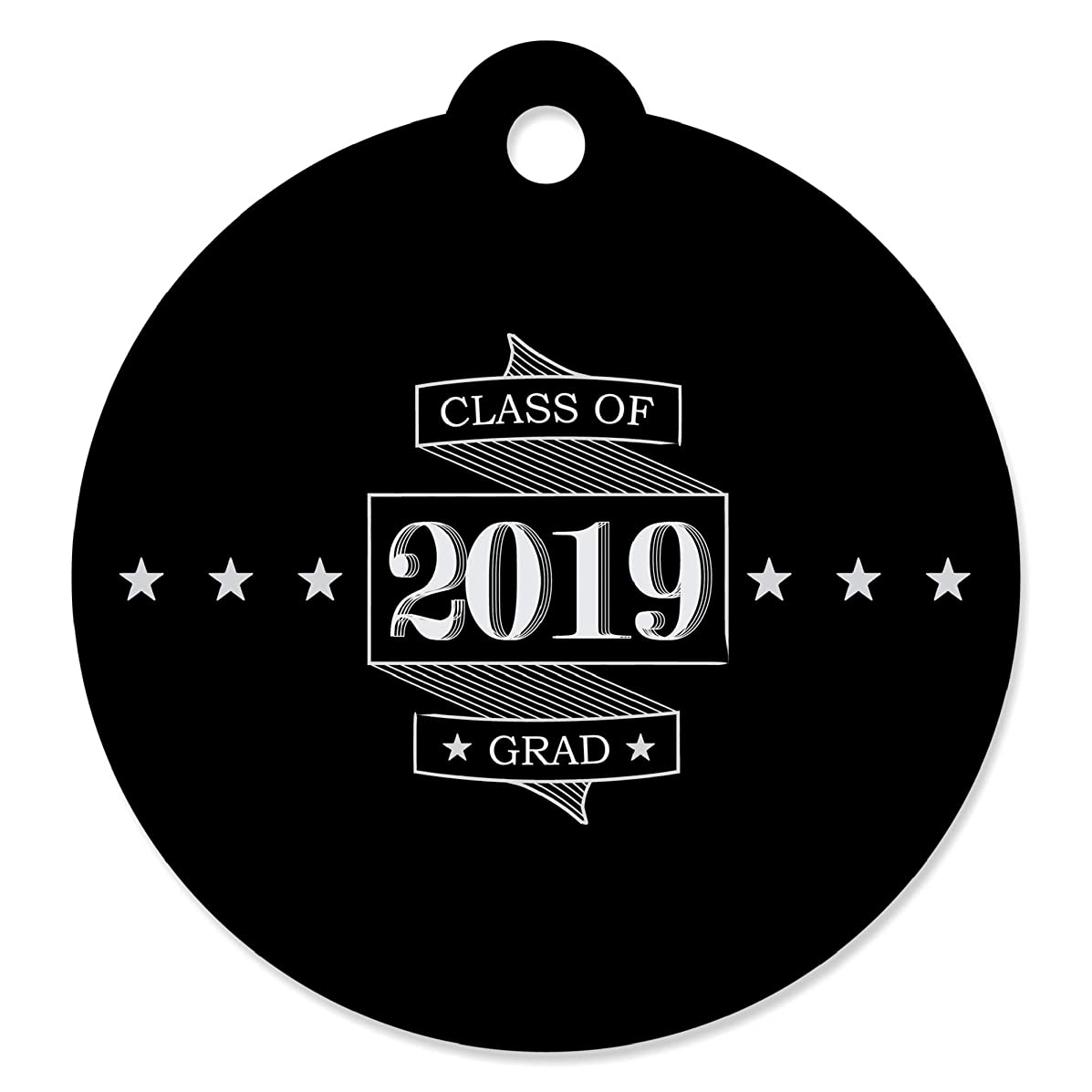 Graduation Cheers - 2019 Graduation Party Favor Gift Tags (Set of 20)