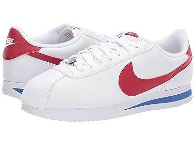 Nike Cortez Leather (White/Varsity Red/Varsity Royal) Men