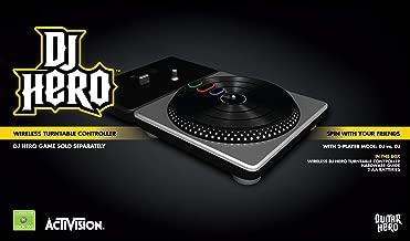 DJ Hero Stand-Alone Turntable - Xbox 360 (Renewed)