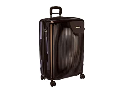 Briggs & Riley Sympatico Large Expandable Spinner (Plum) Luggage