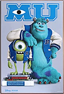 Silver Buffalo Disney Pixar Monsters University Wood Wall Art, 13 by 19 inches