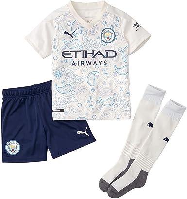 PUMA Manchester City 2020/21 Junior - Mini tercer kit para ...