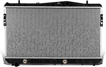 DNA Motoring OEM-RA-2788 2788 OE Style Aluminum Cooling Radiator Replacement