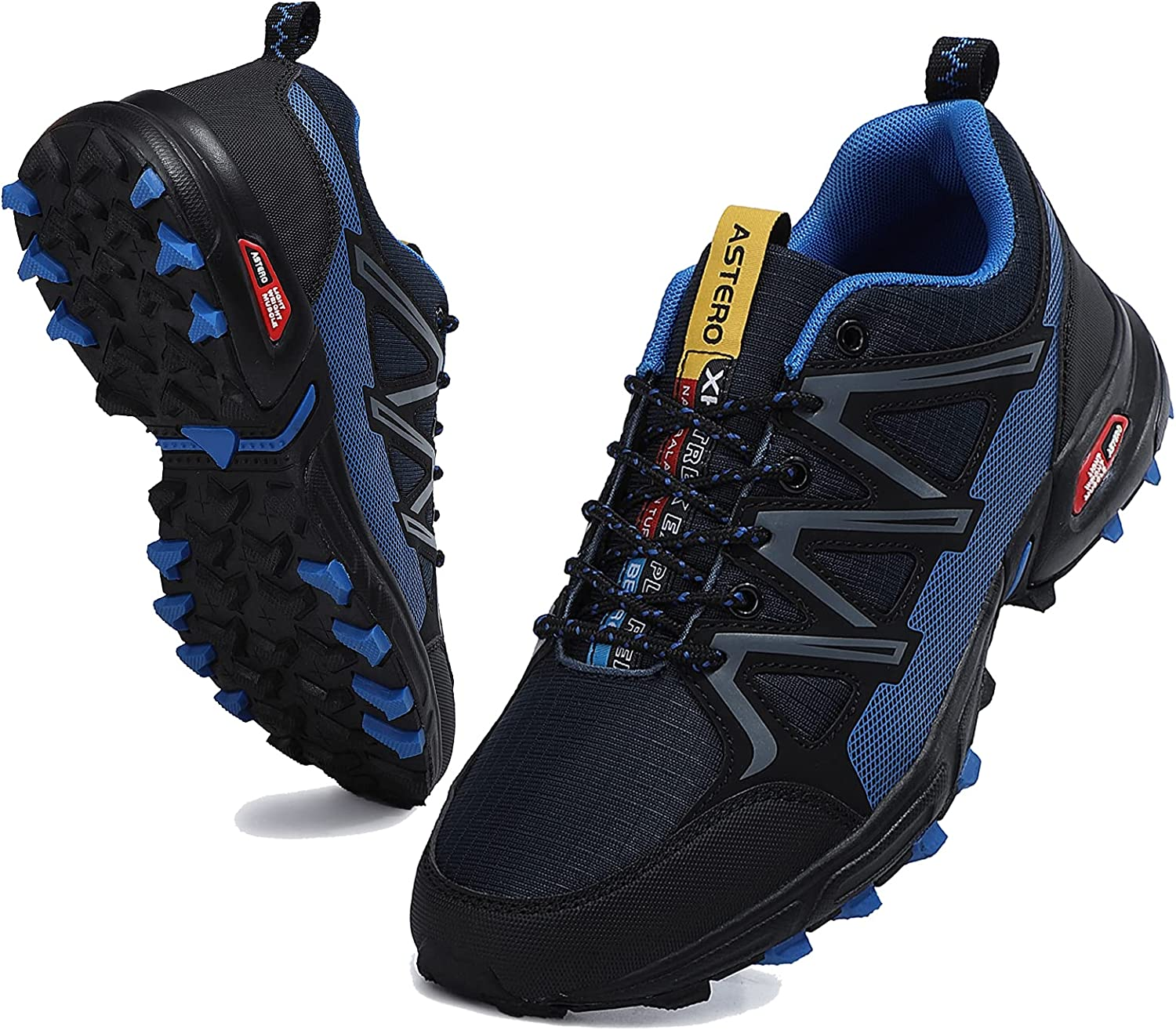 AX BOXING Men's favorite Trail Running Anti-Skid Super popular specialty store Shoes Walking Athl