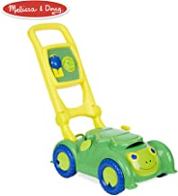 Melissa & Doug Sunny Patch Snappy Turtle Mower (Pretend Play Lawnmower Push Toy)