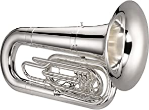 Jupiter 5080 Quantum Series Marching BBb Tuba, Silver