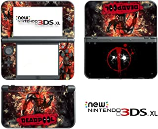 Vanknight Vinyl Decals Skin Sticker Super Hero for the New 3DS XL 2015