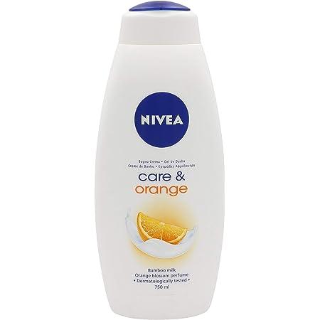 NIVEA 80979 Gel 750ML Care & Orange, Negro, Estandar