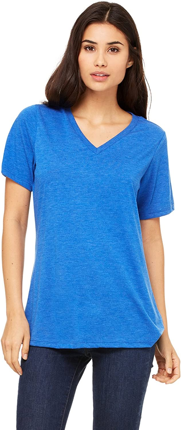 BellaCanvas Relaxed Jersey S/S V-Neck Tee