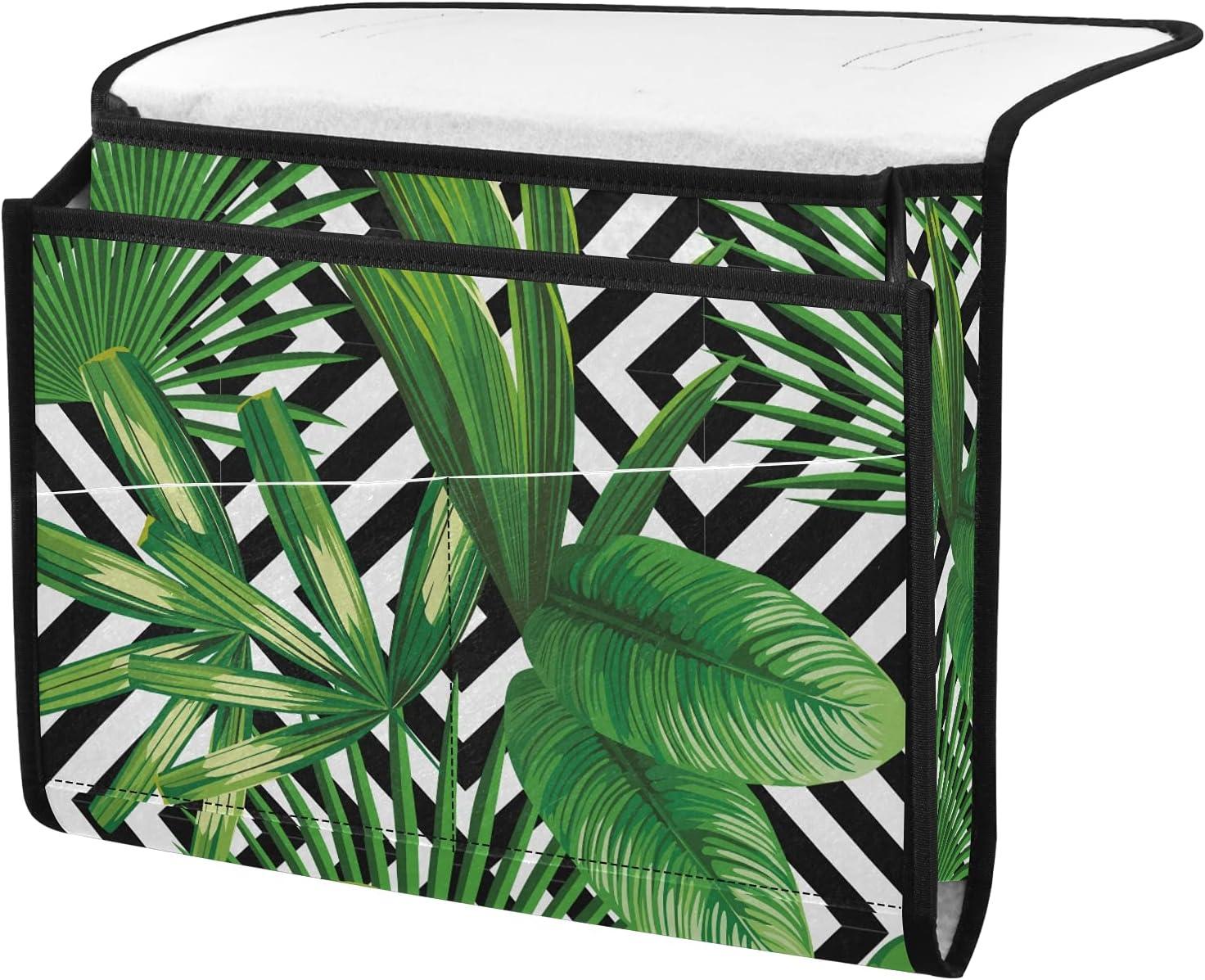 senya Challenge the lowest price of Japan ☆ Palm Leaves trust Jungle Storage Organizer Plant Bedside