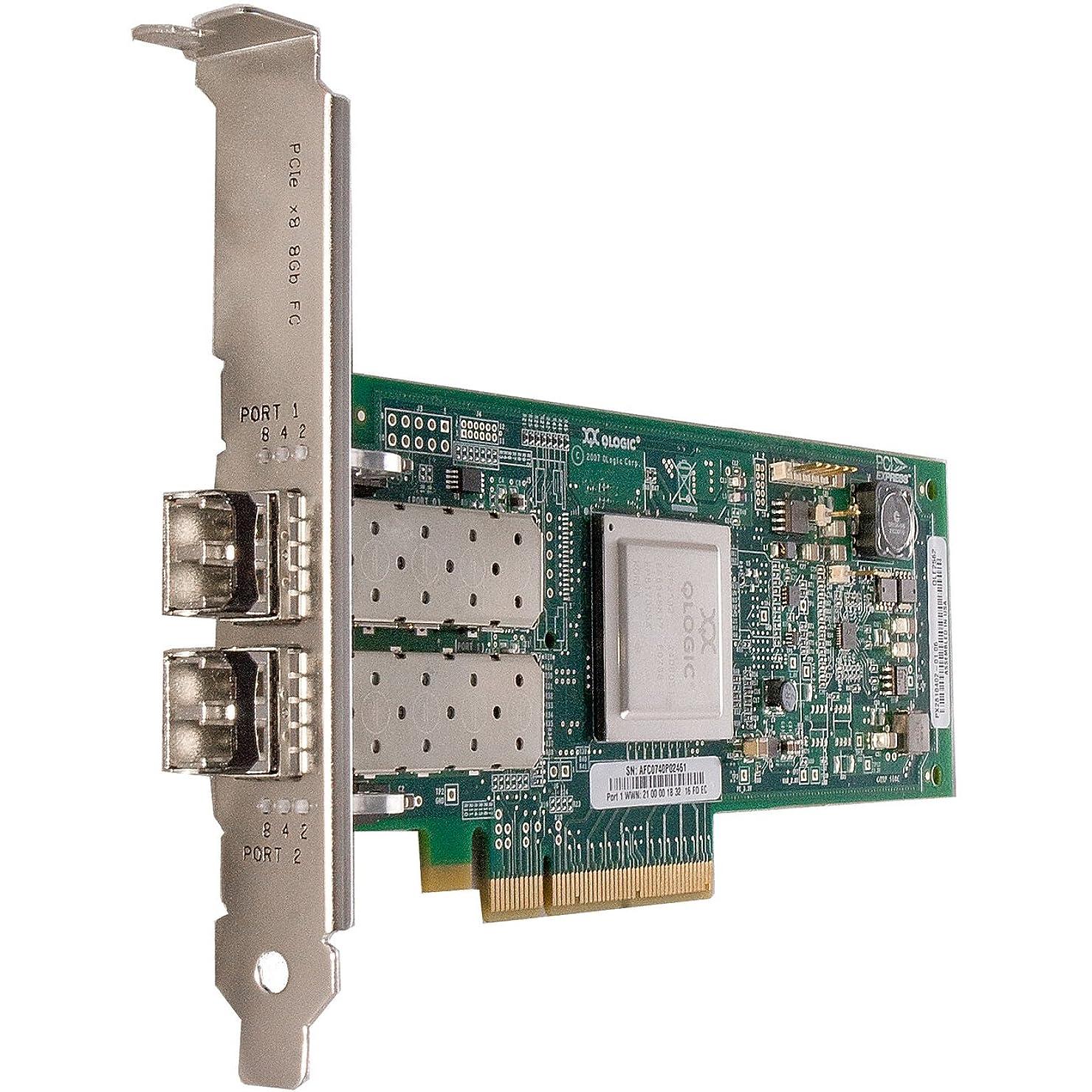 奇妙な架空の勃起Cisco N2XX-AQPCI05 QLogic QLE2562 Fibre Channel Host Bus Adapter - 2 x LC - PCI Express 2.0 x8 - 8.50 Gbps