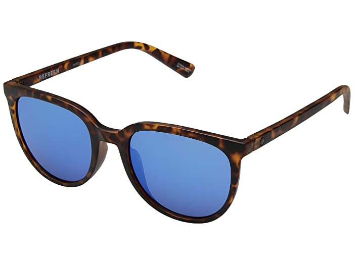 Spy Optic Fizz (Matte Blonde Tort/Gray/Dark Blue Spectra) Sport Sunglasses