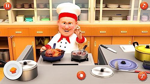 Virtueller Koch Kochen Wahnsinn 3D: Mein Restaurant Kochen Spiele kostenlos