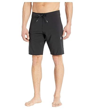 Volcom Lido Solid Mod 20 Boardshorts (Black) Men