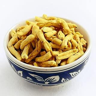 Aakash Namkeen (Indore) Lahsun Sev Indian Savory Snack Mix - 350 gm