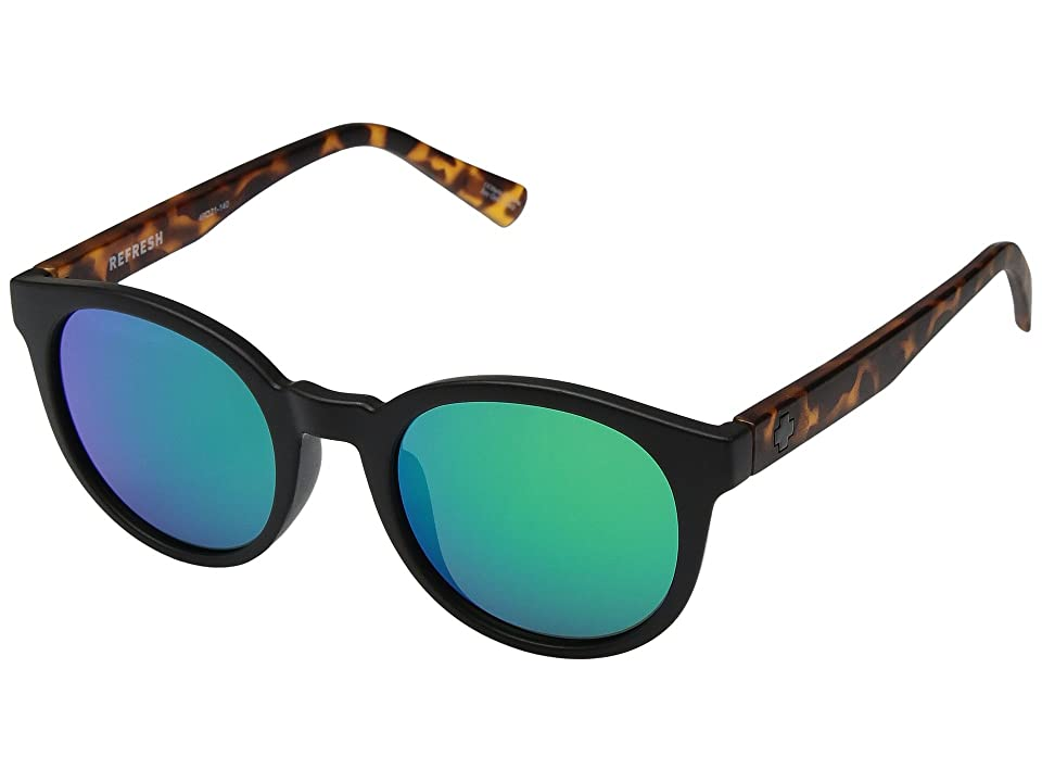 Spy Optic Hi-Fi (Matte Black/Matte Blonde Tort/Gray/Green Spectra) Sport Sunglasses