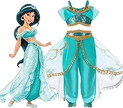 Children's Dress - Princess Jasmine Disney Aladdin Costume 5-8 Years