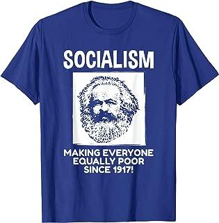 Conservative Anti Socialism Anti Marx Shirt