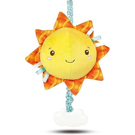 Clementoni Baby Clementoni for You-Soft Sun, Carillon Sole, Multicolore, 17270