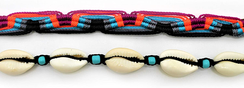 Funky Concept Handmade Cowrie Seashell Anklet Bracelet Bohemian Beach