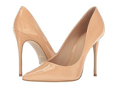 Massimo Matteo Pointy Toe Pump 17 (Nude Patent) Women