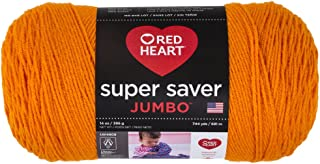 Red Heart Super Saver Jumbo E302C, Pumpkin