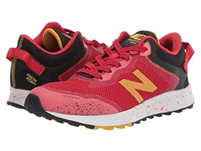 New Balance Kids Fresh Foam Arishi Trail (Little Kid/Big Kid) (Toro Red/Black) Boys Shoes