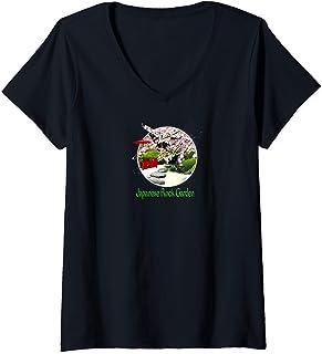 Japanese Art V-Neck T-Shirt