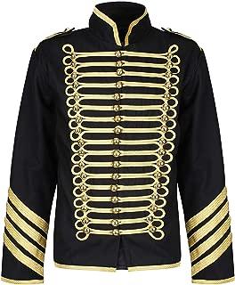 Gold Hussar Parade Steampunk Gothic Jacket