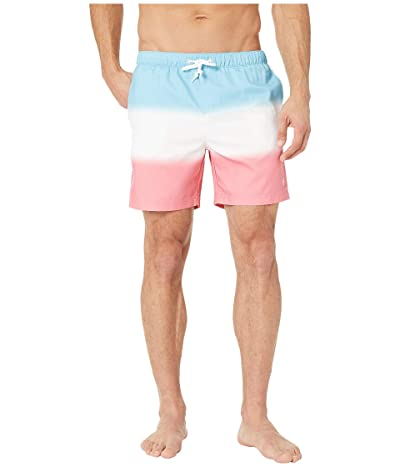 Original Penguin Ombre Swim Shorts (Air Blue) Men