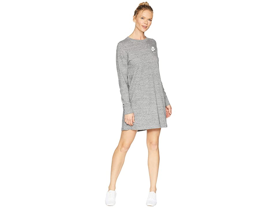 Nike Sportswear Dress (Carbon Heather/Sail 1) Women