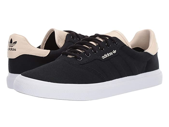 adidas Skateboarding  3MC (Core Black/Ecru Tint S18/Footwear White) Mens Skate Shoes