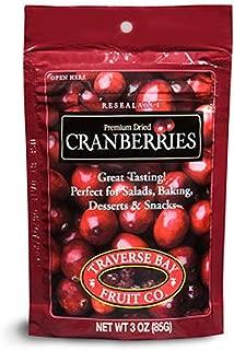 Traverse Bay Dried Cranberries 3oz, (12pk) - SCS