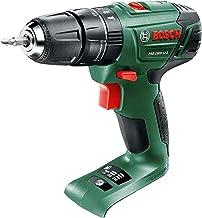 Bosch 06039A3370 PSB 1800 LI-2 Taladro combinado inalámbrico, verde, 06039A330C, 18V
