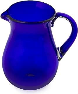 Best blue glass pitcher Reviews