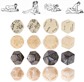 Cute T-oys Smart Game 4PCS Funny Position Love Dice Couple Lovers Games Aid Party