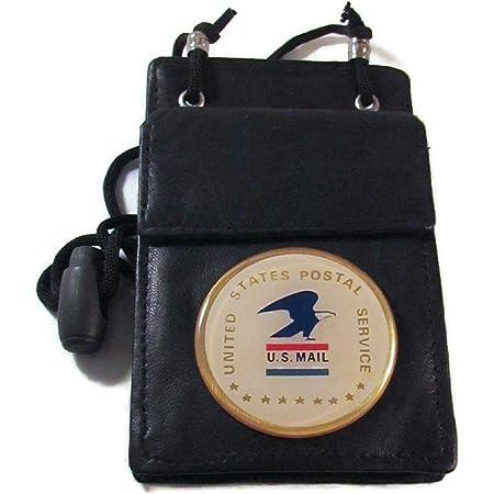 US Postal Service Retractable ID reel metal ID card holder USPS Post Office inspector Mailman