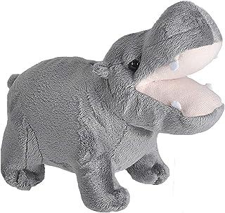 Wild Republic 23327 Hippopotamus Plush, Wild Calls Soft Toys with Original Sound, Kids Gifts, 20 cm, Multi