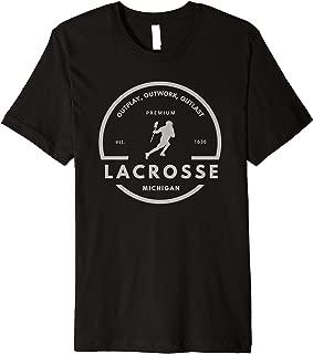 Michigan Lacrosse Logo T-shirt
