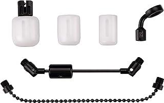 New Direction Tackle TEFLON T4 - Bobina de indicador de mordida (tres cuerpos blancos) con brazo de carbono para pesca de ...
