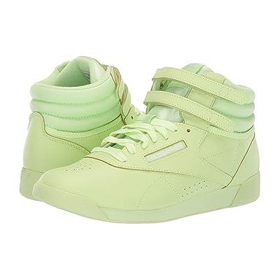 Reebok Kids F/S Hi Colors (Big Kid) (Lime Glow/White) Girls Shoes