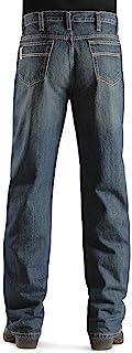 Cinch Men's Jeans White Label Relaxed Fit Denim Dark Stonewash Dark Stone 33W x 34L